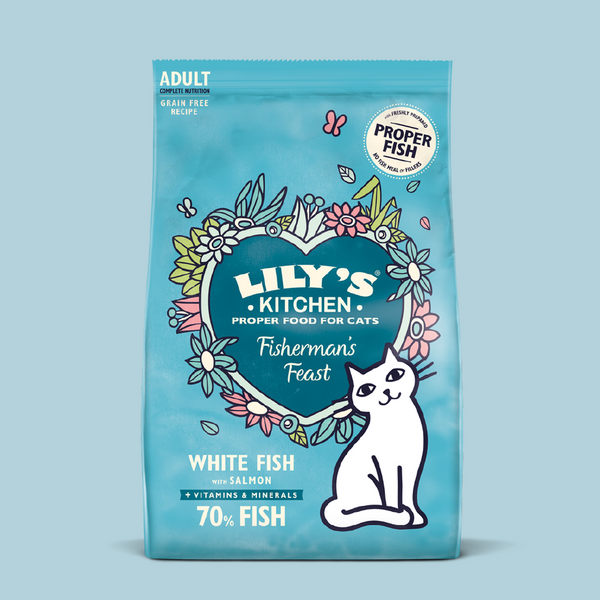 White Fish & Salmon Dry Cat Food 無穀物鮮味魚肉餐貓糧 2kg