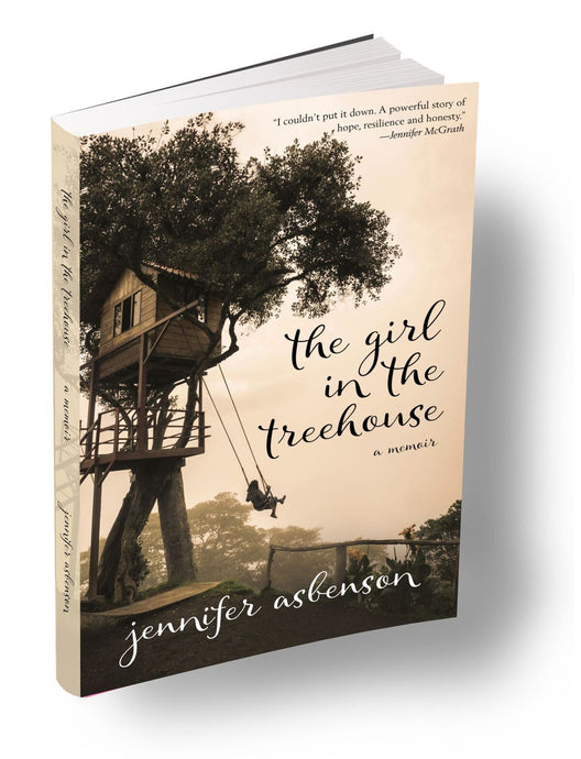 The Girl in the Treehouse Book (Personalized- Autographed)