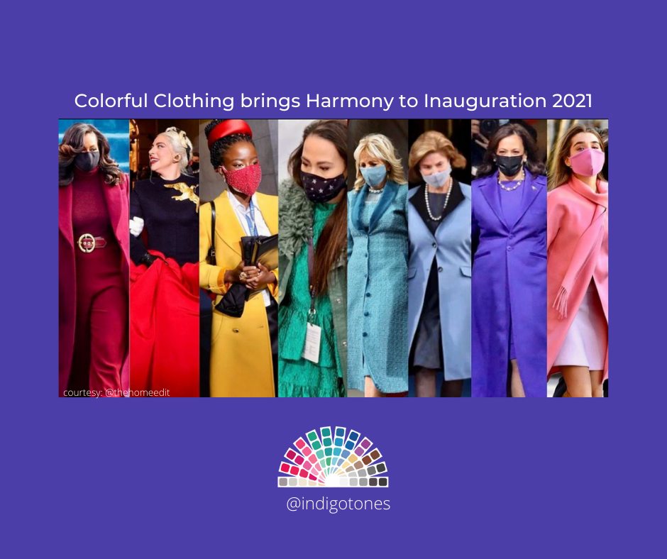 Colorful Clothing Brings Harmony to Inauguration 2021