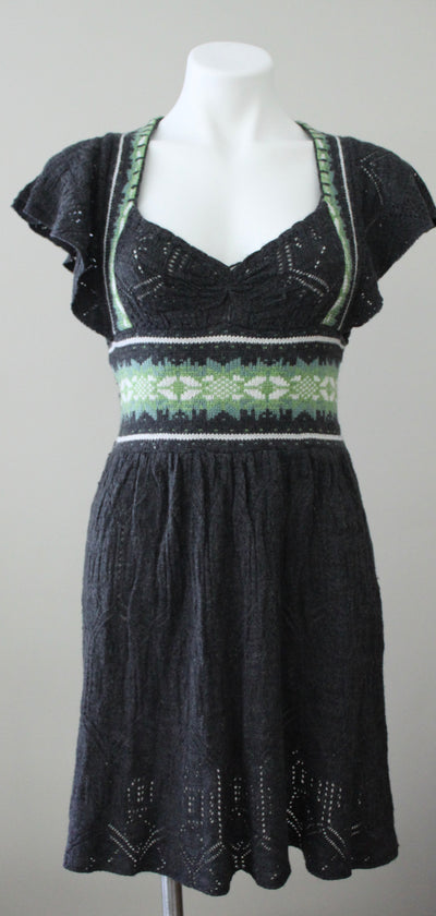 FREE PEOPLE Soft Summer fair isle sweater dress