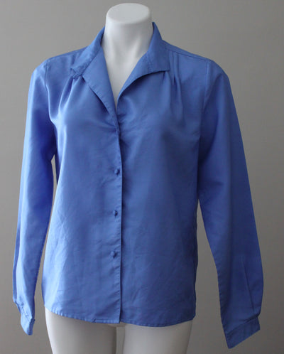 JOSEPHINE Light Summer blue shimmer blouse