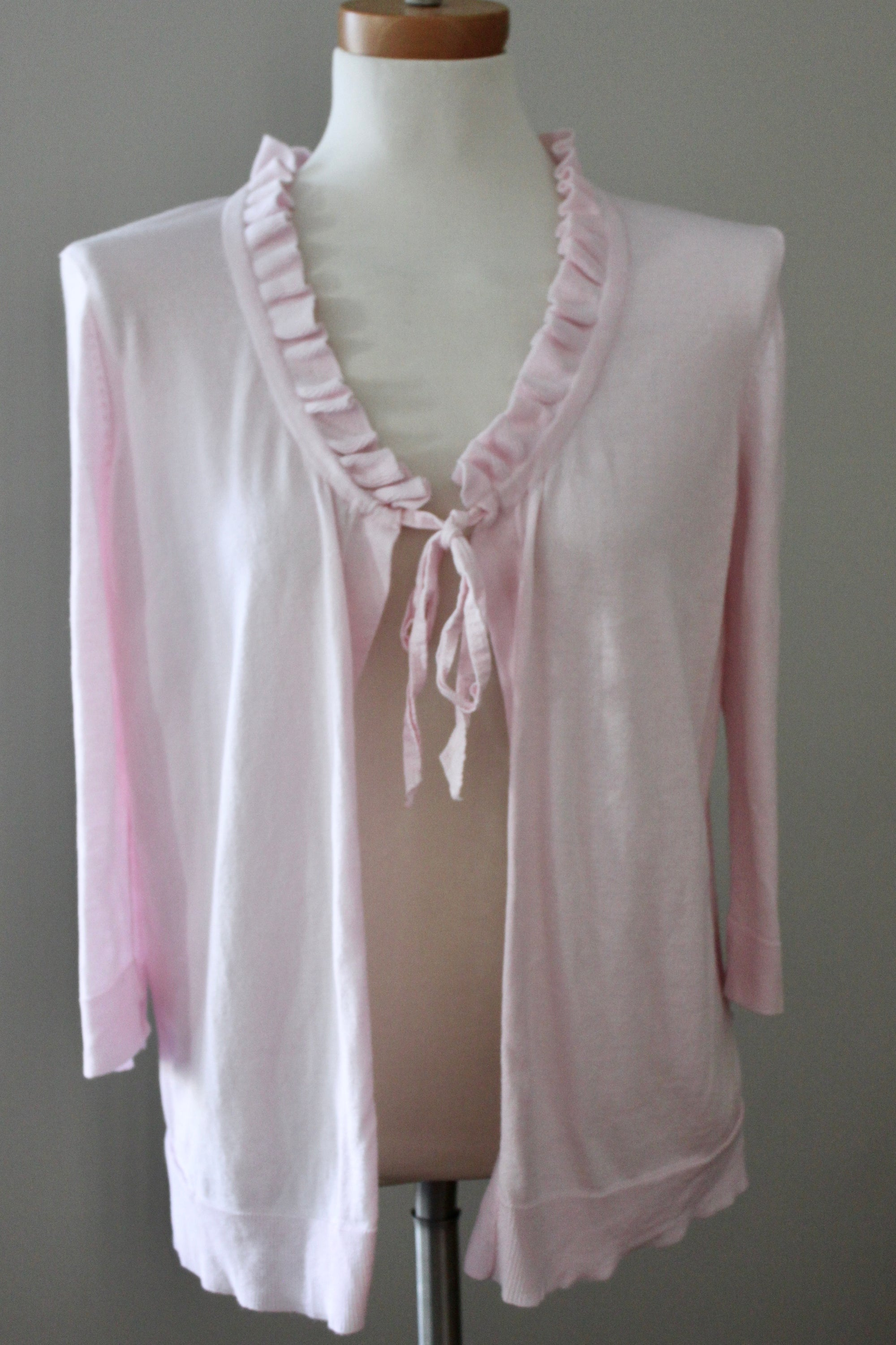 Cool Summer Ruffle Cardigan