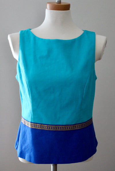 Bright Spring JESSICA HOWARD Color Block Top