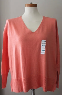 warm spring old navy apricot sweater