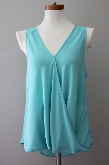 LUSH Cool Summer aqua haze top