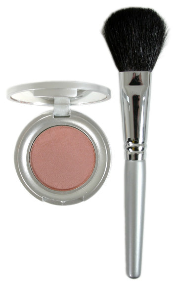 Mineral Powder Blush & Brush Set