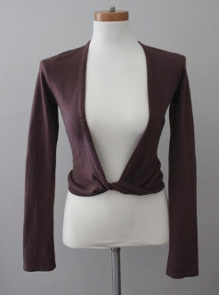 CHARLOTTE RUSSE Soft Autumn burgundy sweater