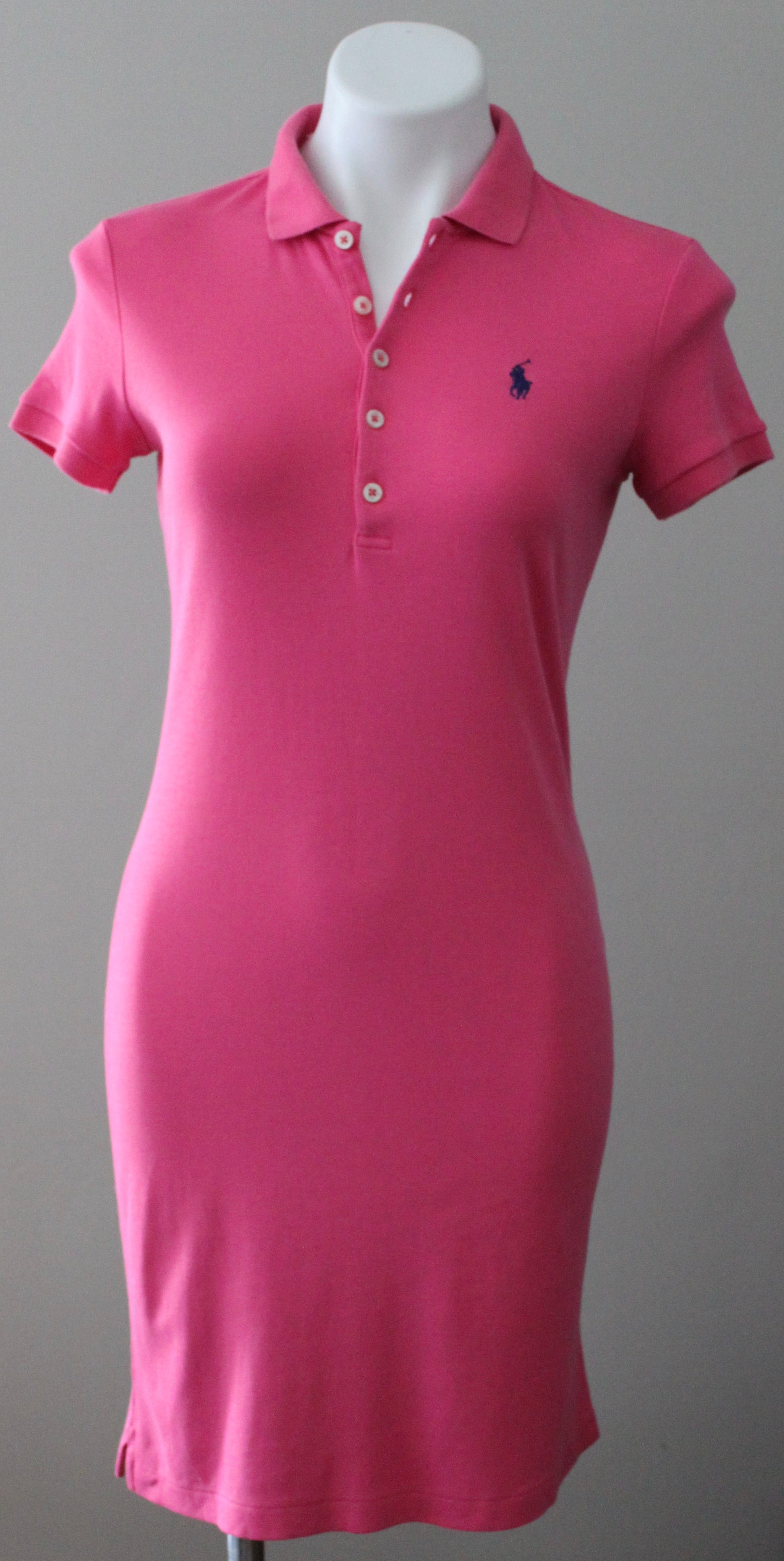 RALPH LAUREN Light Summer pink polo dress