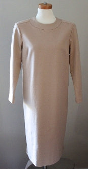 BROWNSTONE STUDIO Soft Autumn camel dress