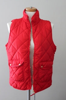 WORKSHOP REPUBLIC Bright Spring red puffer vest