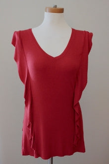 CABLE&GAUGE Warm Autumn cassis tunic