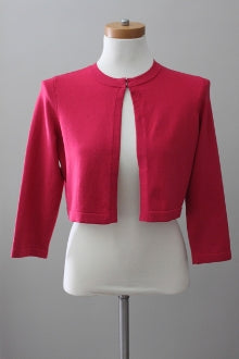 ANN TAYLOR Light Summer cherry cardi