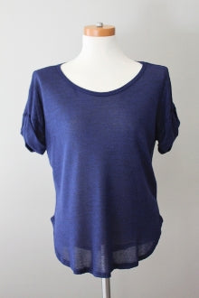 LUSH Dark Winter deep cobalt top