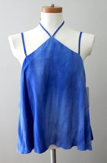 CAD Light Summer cobalt halter top