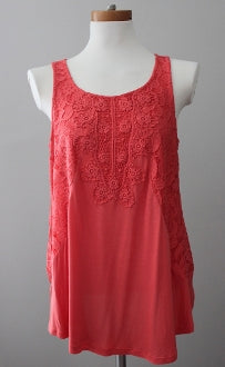 CUPIO Warm Autumn coral top
