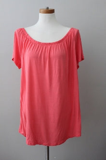 warm spring OLD NAVY  coral tropics top