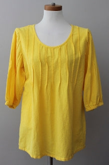 SOFT SURROUNDINGS Bright Winter daffodil tunic