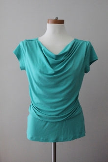 ANN TAYLOR Cool Summer emerald top
