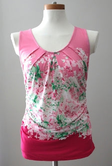 NY&C Light Summer pink floral top