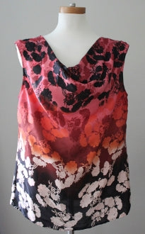LIMITED Warm Autumn floral top