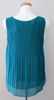 MAX STUDIO Warm Autumn flowing teal top