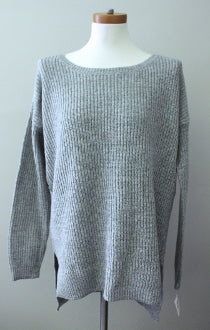 BP Soft Summer gray marl sweater
