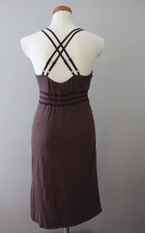 ATHLETA Dark Autumn heather sienna dress
