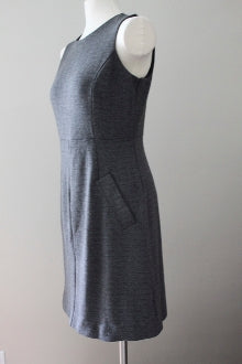 LANDS END Dark Autumn Herringbone Dress