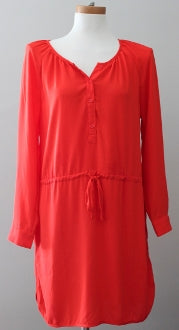 GAP Bright Spring hot red dress