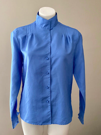 Light Summer Blue Shimmer Blouse
