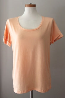 warm spring GRACE melon tee