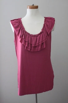 NY&CO Cool Summer mulberry top