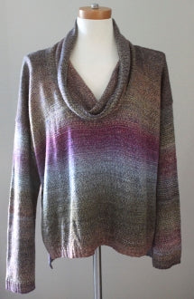 CENY Dark Autumn ombre sweater