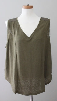 OLD NAVY Warm Autumn Olive top