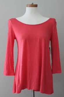 warm spring CYNTHIA ROWLEY persimmon top