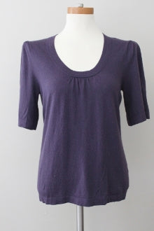 BANANA REPUBLIC Soft Autumn plum sweater