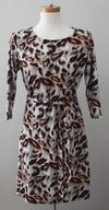 STUDIO WEST Warm Autumn print dress