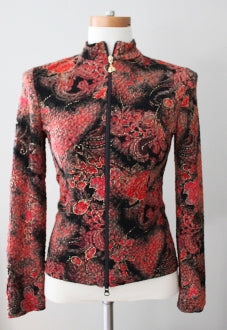 JOSEPH RIBHOFF Warm Autumn print jacket