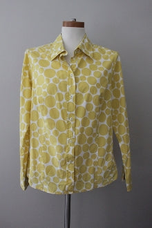 warm spring BODEN golden dot print shirt