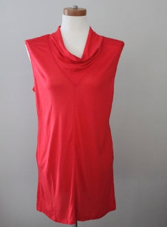 HALOGEN Bright Spring red tunic