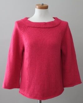 J CREW Light Summer rose sweater