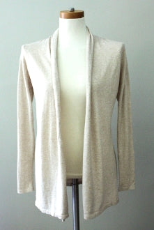 MOSSIMO Soft Autumn sand cardigan sweater