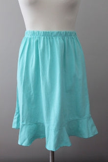I CAN TOO Resort Wear Light Spring sea glass skirt