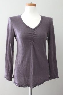 Soft Summer Romantic Taupe Top