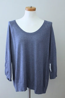 OLD NAVY Soft Summer steel blue sweater
