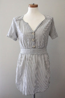 GAP Light Spring stripe shirt-dress