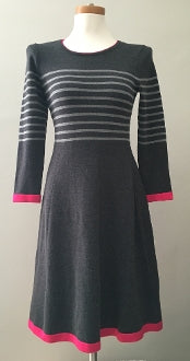 VINCE CAMUTO Bright Winter stripe dress