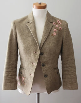 AMERICAN EAGLE OUTFITTERS Warm Autumn tweed jacket