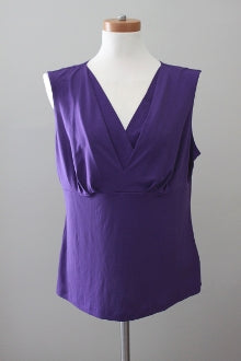 EAST 5TH Dark Winter violet knit top