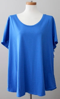 OLD NAVY Bright Winter vibrant blue top